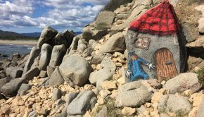 Muravera roccia dipinta