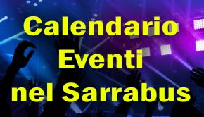 Calendario eventi del Sarrabus