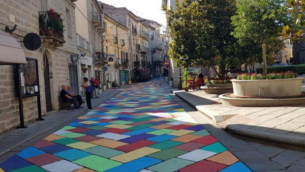 centro storico a colori