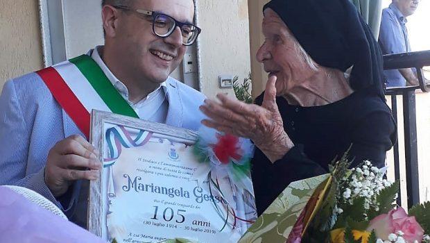 zia maria 105 anni