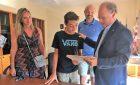 Francesco, 12 anni e un futuro da campione